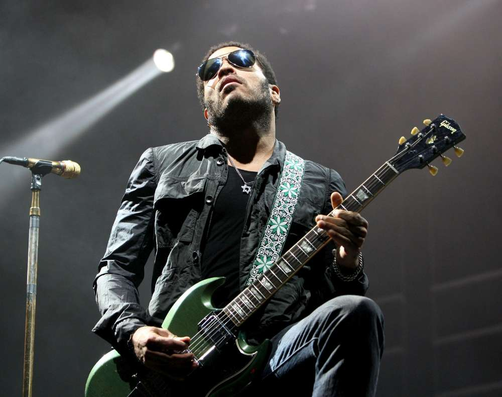 Photo of Lenny Kravitz en concert à Bordeaux