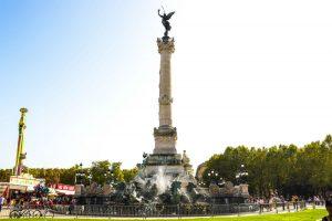 quoi faire à bordeaux gratuitement : monument aux girondins