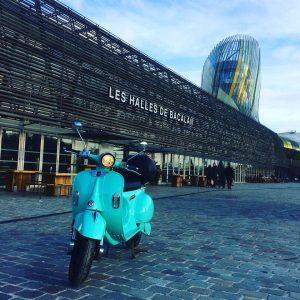 yugo des scooters électriques en libre service à bordeaux