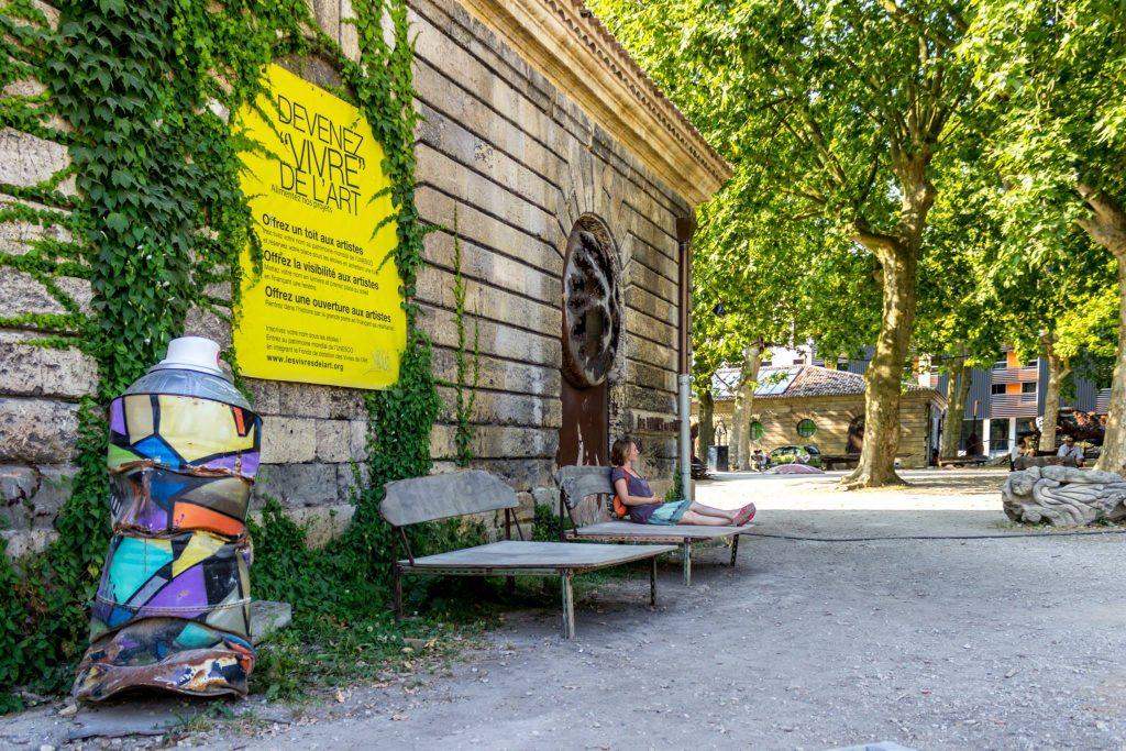 Vivres de l'art Bordeaux