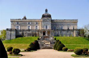 Chasse aux oeufs château de Vayres