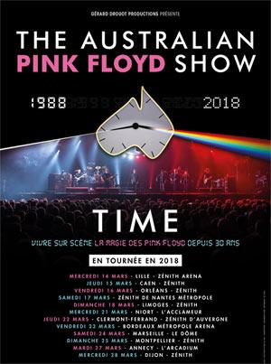 Australian pink floyd show Bordeaux