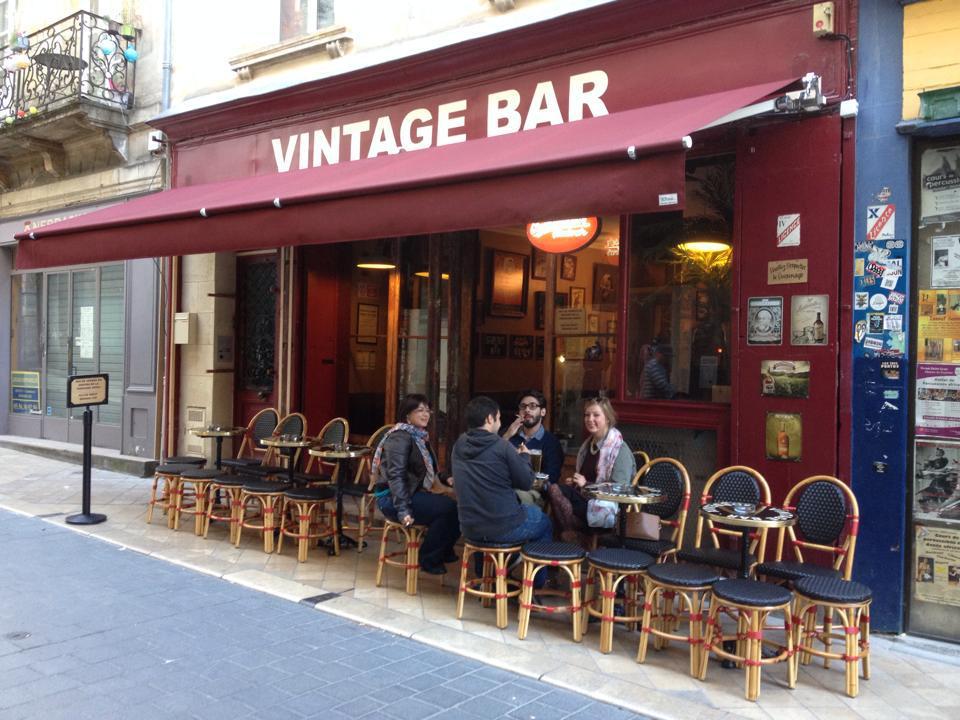 Vintage bar bière pas chère bordeaux
