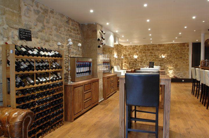 Quatre coins du vin bar à vin bordeaux