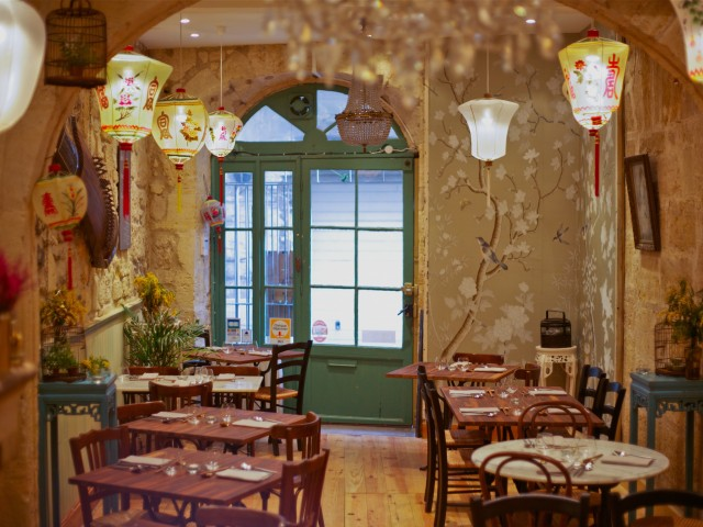 dan restaurant romantique bordeaux