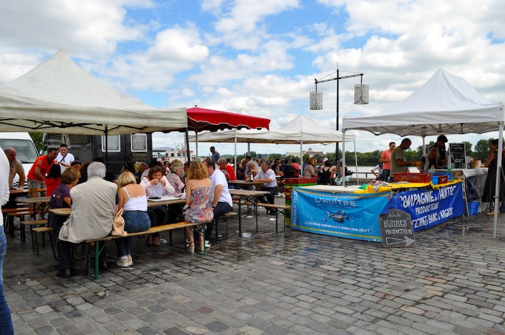visite marché quai chartrons