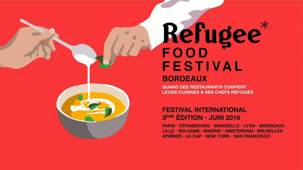 refugee food festival à Bordeaux
