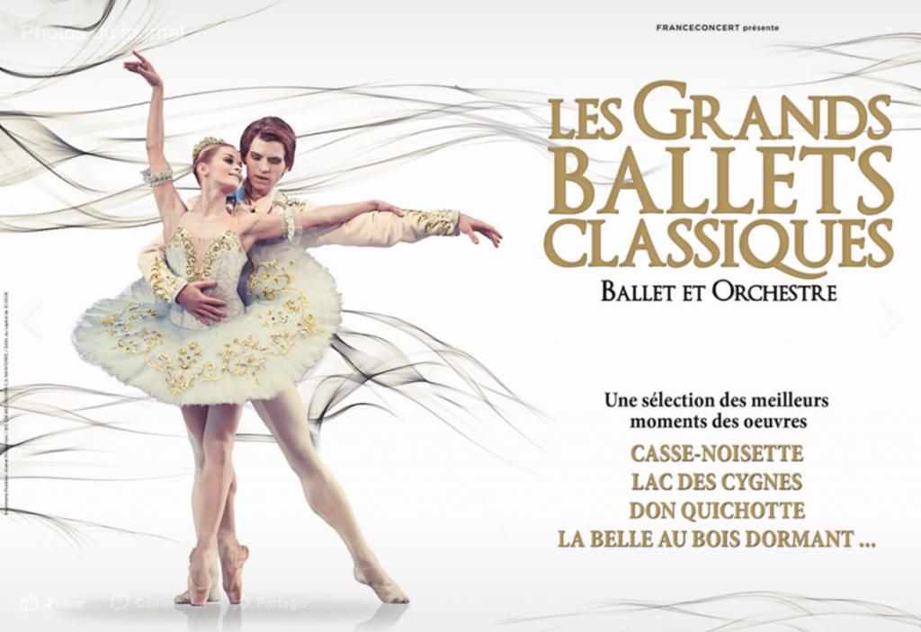 Ballets classiques danseurs Bordeaux ce weekend