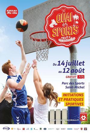 quai des sports ce week end à Bordeaux