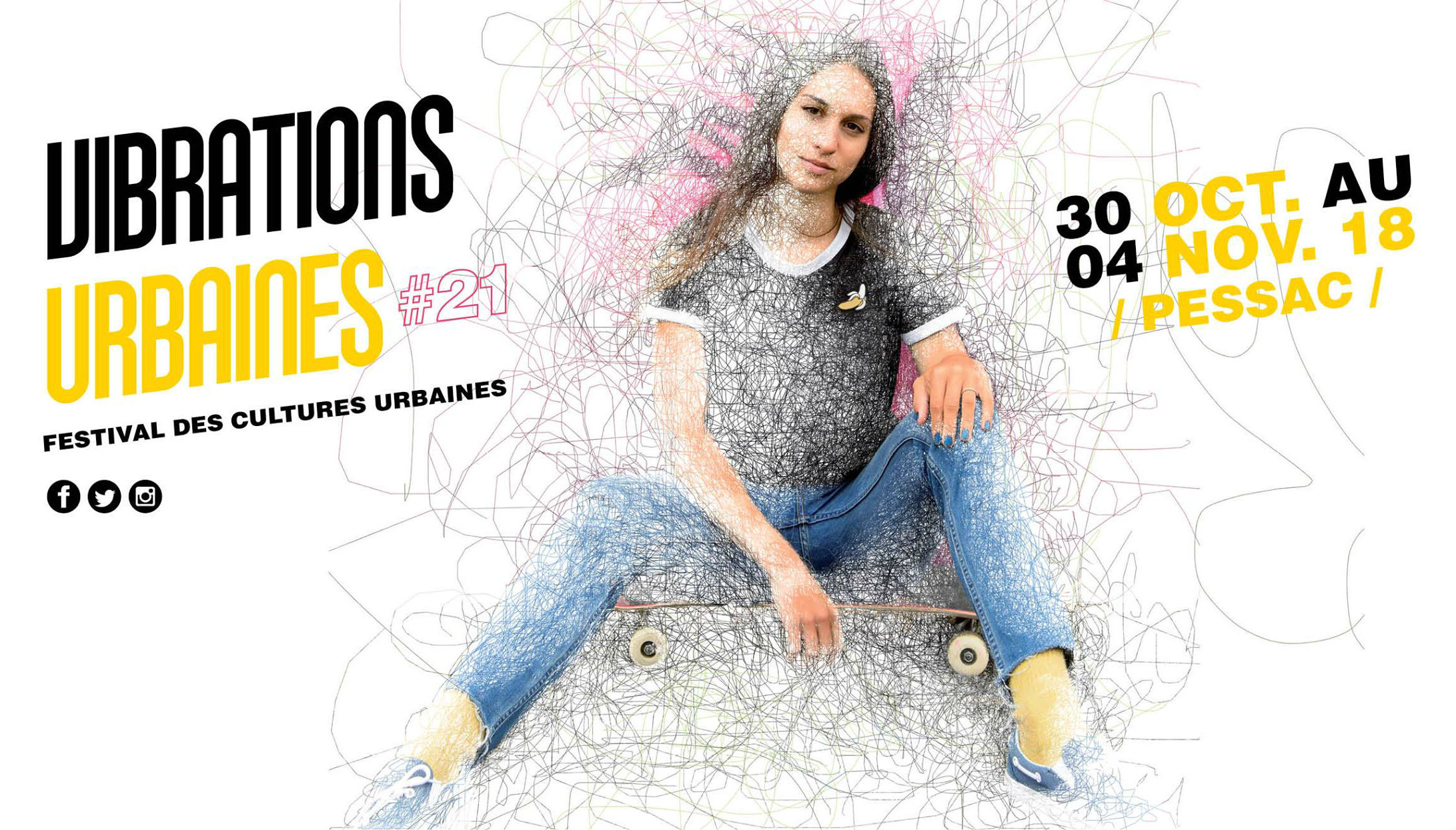 Photo of CE WEEKEND PARTICIPEZ AUX VIBRATIONS URBAINES PESSAC