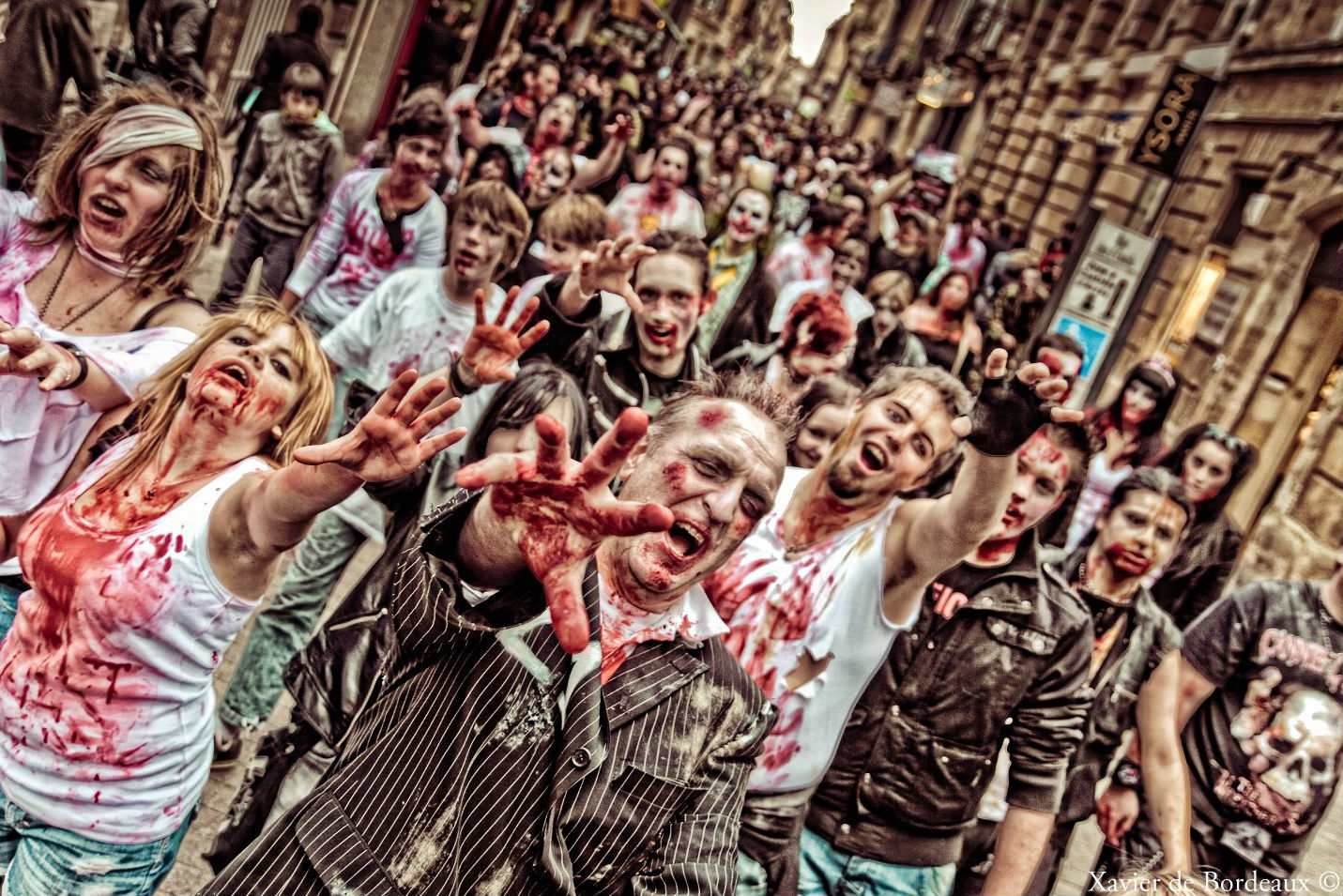 zombie walk bordeaux ce week-end