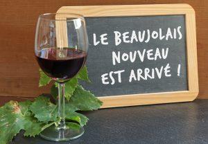soirée Beaujolais à Bordeaux