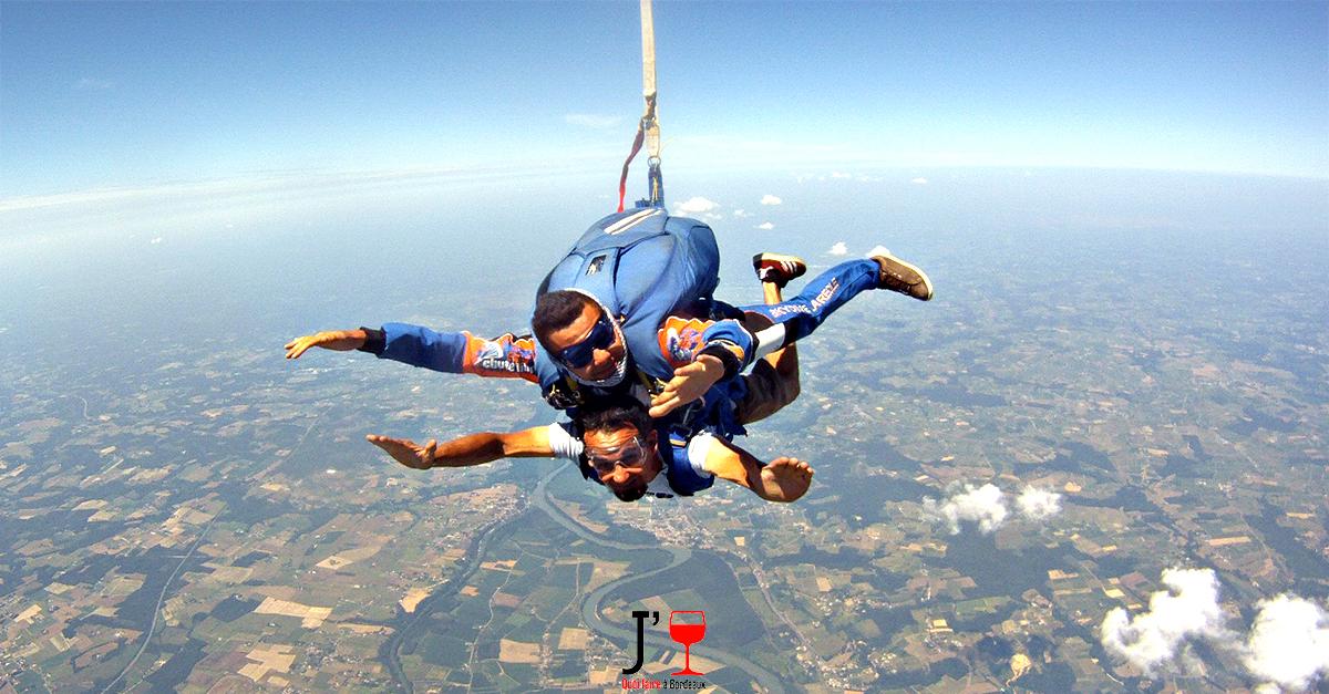 Photo of Tentez de gagner un saut en chute libre en tandem !