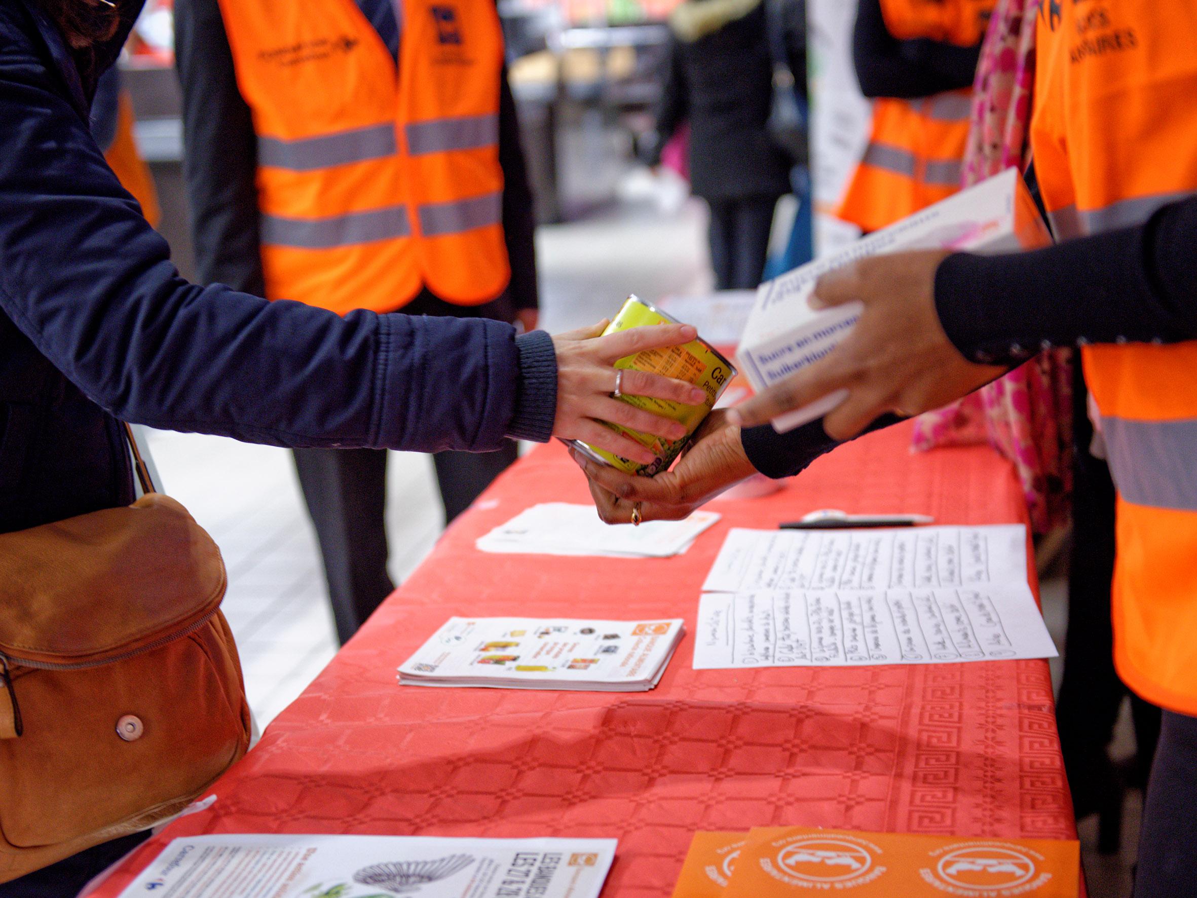 Photo of La collecte de la Banque alimentaire a lieu ce week-end en Gironde