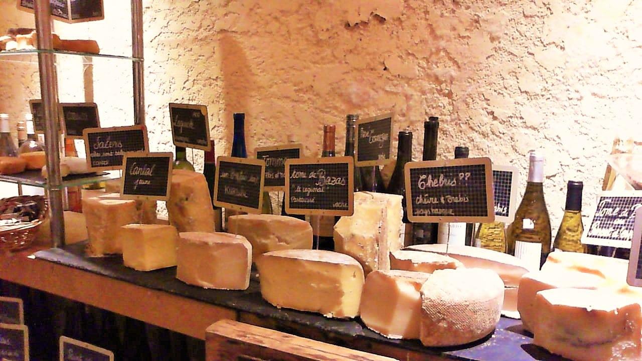fromages Baud et Millet Bordeaux