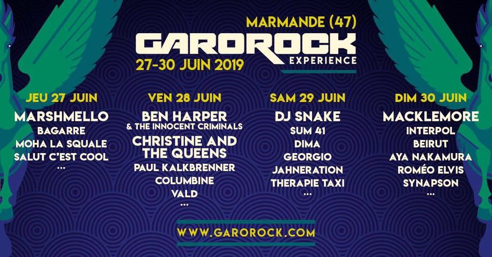 Photo of Garorock : ouverture de la billetterie et premiers noms dévoilés