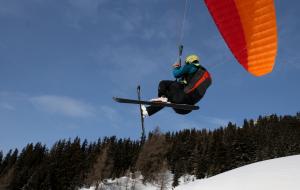 snowkite Pyrénées