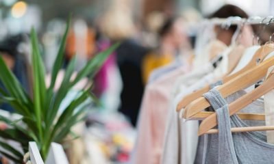 shopping, vide-dressing
