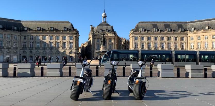 Photo of EcoCityRide, la trottinette électrique qui vous fait visiter Bordeaux autrement