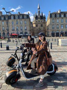 EcoCityRide trottinette électrique à Bordeaux
