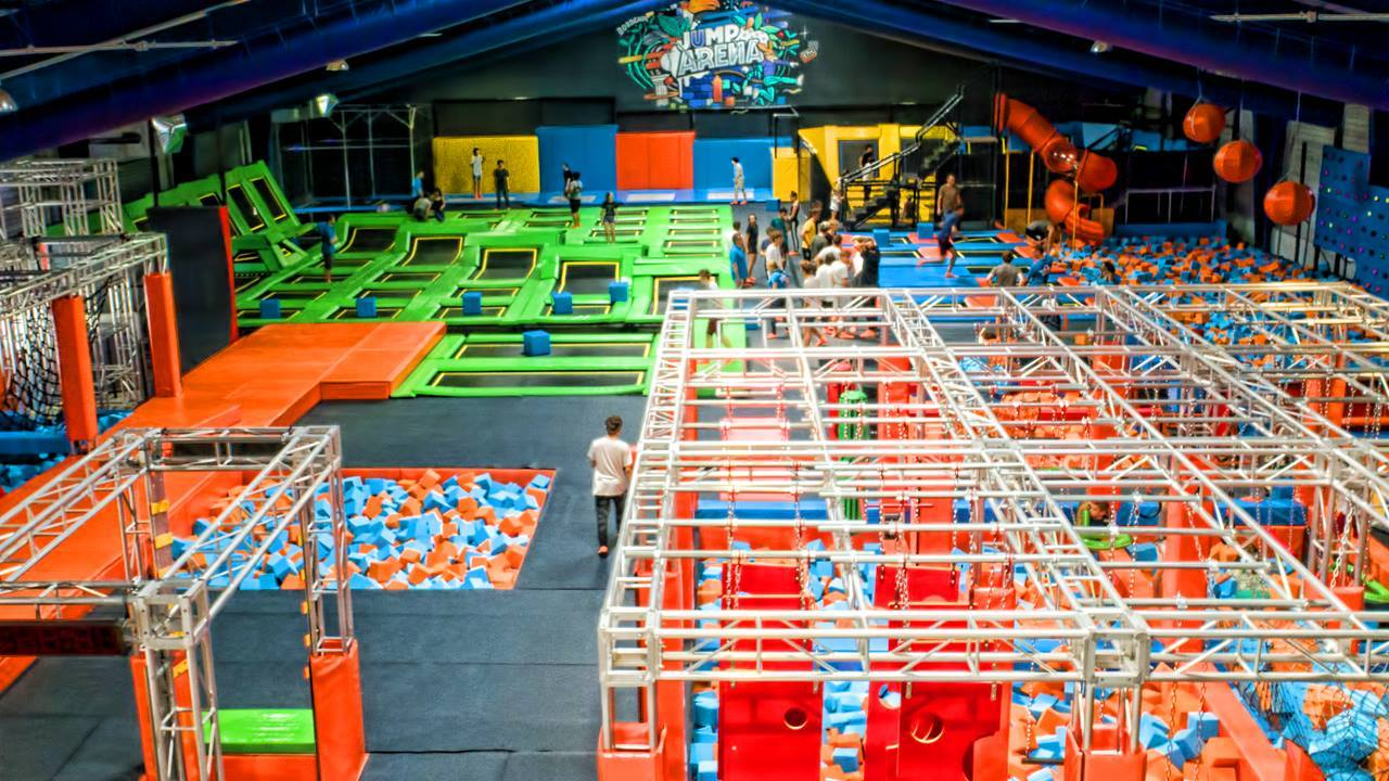 Photo of JUMP ARENA, un trampoline et ninja park déjanté unique en Gironde !