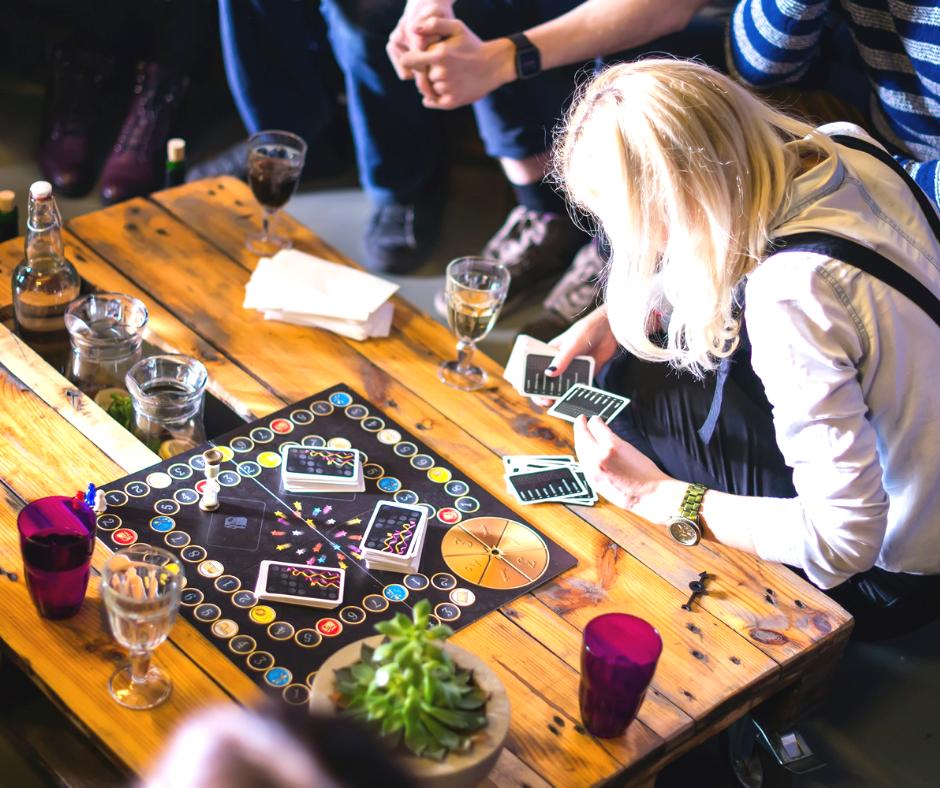 Bar à jeux de société
