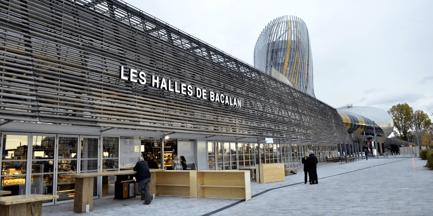 Photo of Art et gastronomie ce week-end aux Halles de Bacalan