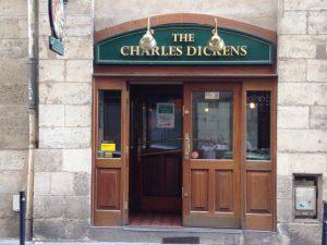 dickens pub Bordeaux