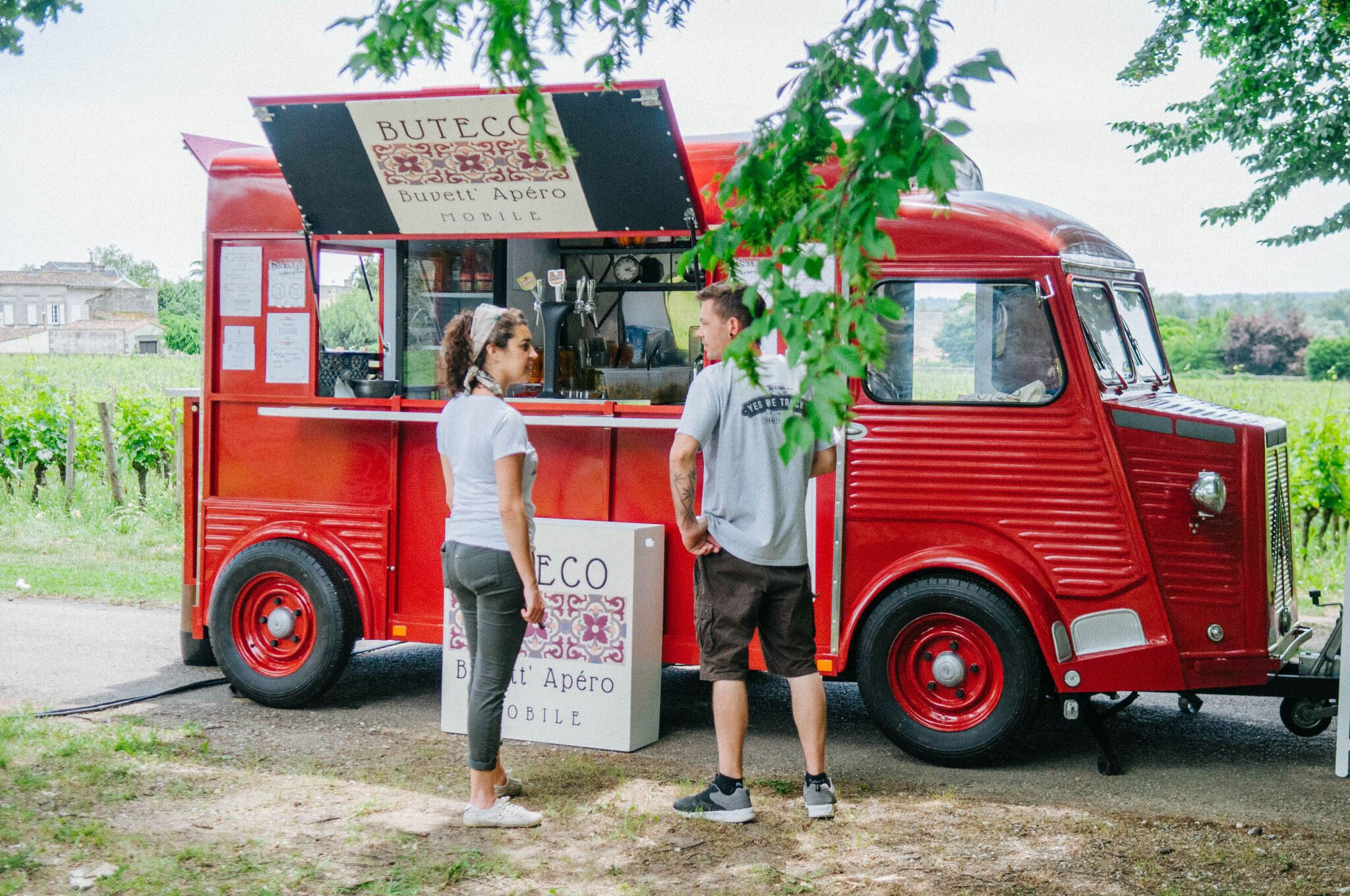 Photo of Ce week-end, profitez du festival de food trucks au milieu des vignes