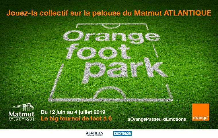 Orange foot park