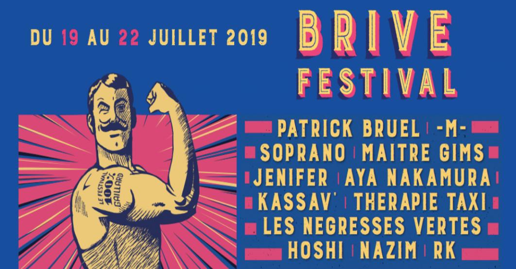 Photo of Le meilleur de la scène française sera au Brive Festival en juillet