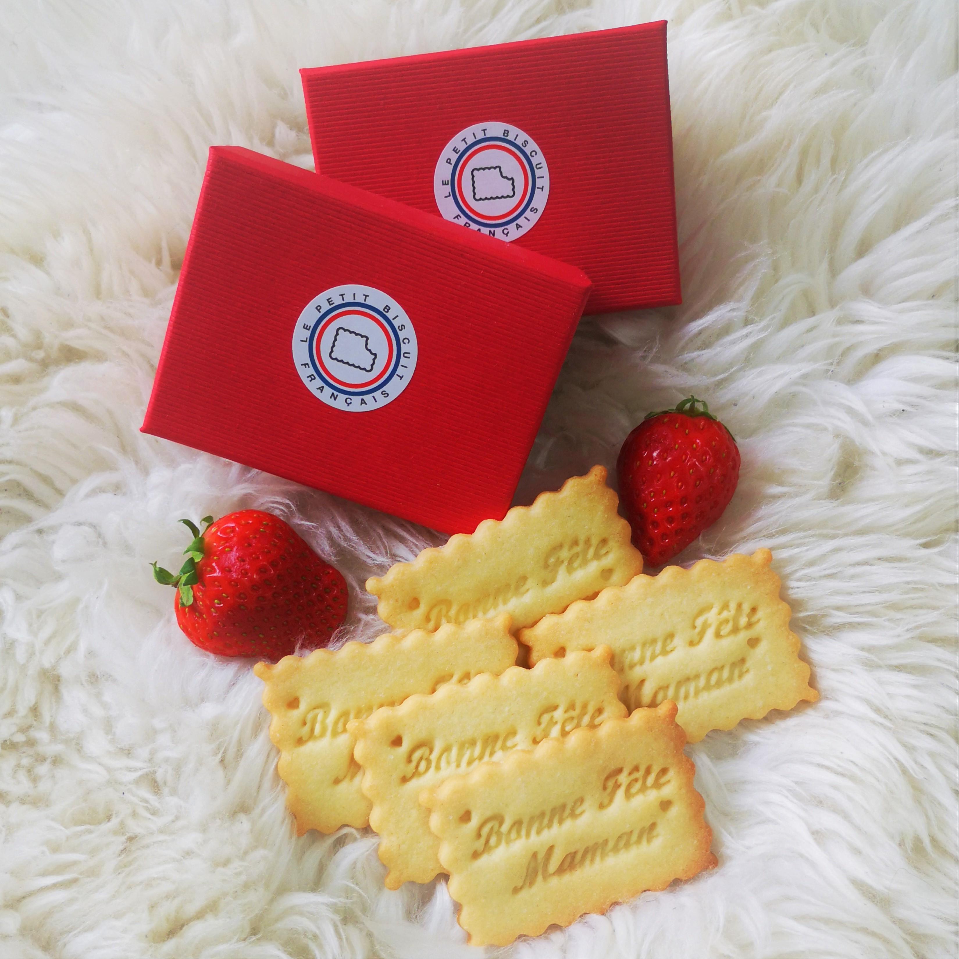 Photo of Une BORDELAISE crée Le Petit Biscuit Français: un biscuit personnalisable