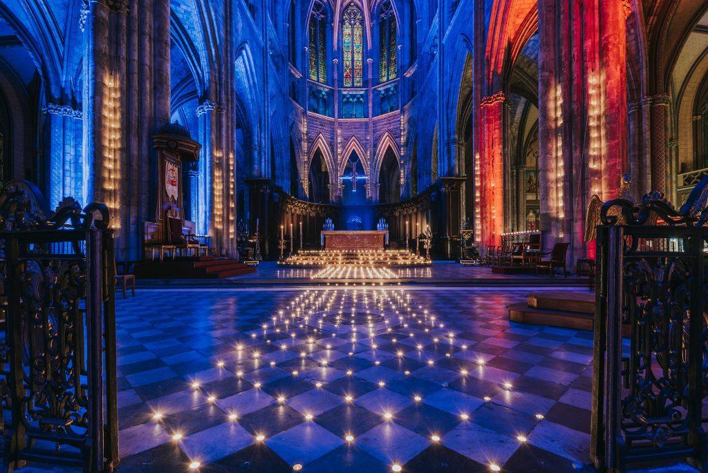 lumières cathédrales
