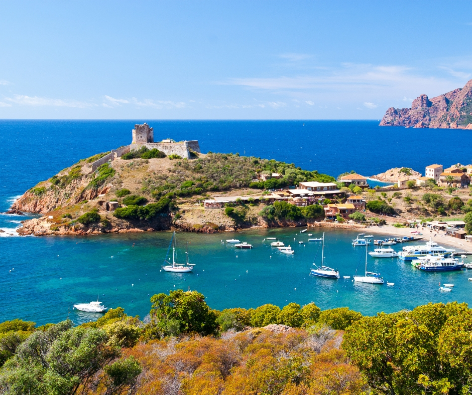 Vols Girolata, Corse