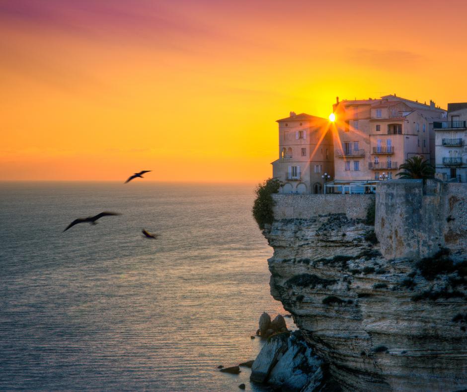 Vol vers Bonifacio Corse