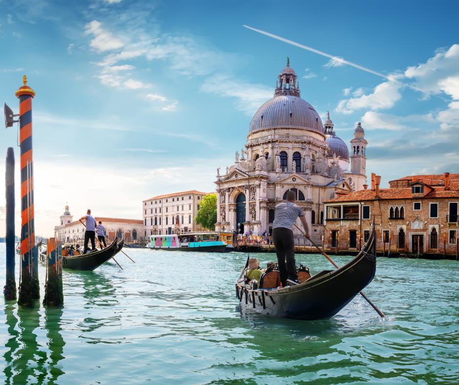 Vol vers Venise