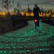 piste cyclable phosphorescente