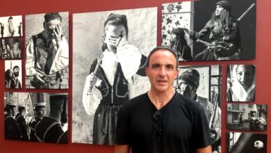 Photo of Nikos Aliagas expose ses oeuvres au Musée des Beaux Arts de Bordeaux