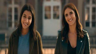 Photo of Leila Bekhti et Géraldine Nakache à Bordeaux pour J'irai où tu iras
