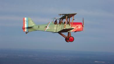 Photo of Un vol rétro au-dessus de l'Estuaire de la Gironde