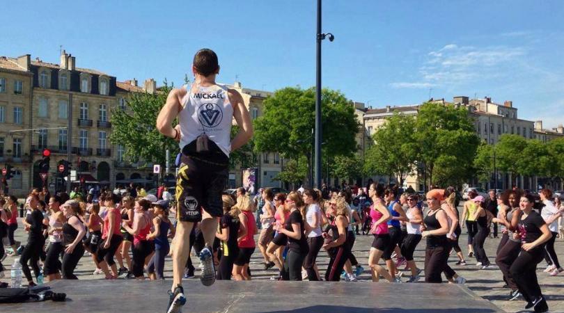 cours de sport sur les quais Bordeaux