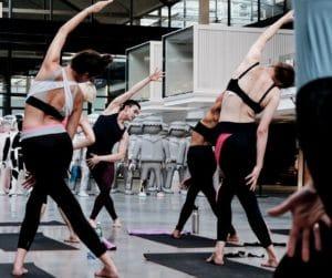 séance de dance collective