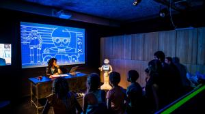 exposition robot