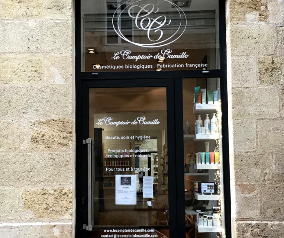 boutique cosmétiques bio