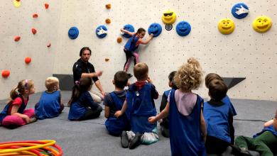 Photo of BLOCK'OUT BORDEAUX propose des cours d'escalade pour les enfants dès 4 ans