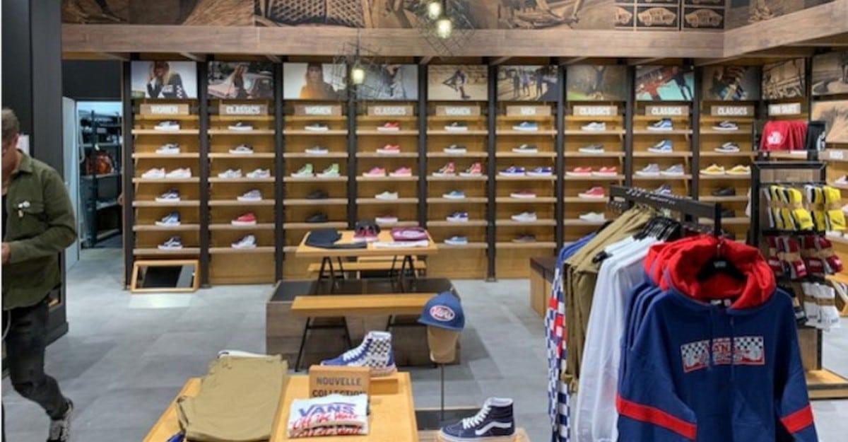 BÈGLES : Découvrez la nouvelle boutique Vans à Rives d'Arcins