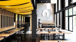 Restaurant street-food asiatique