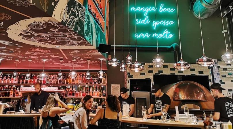 bar et restaurant italien