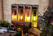 Photo of Les lampes Septembres offrent une deuxième vie aux bouteilles de vin