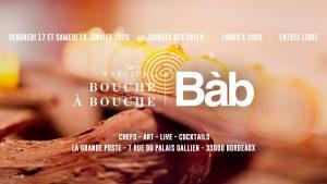 Festival Bouche à Bouche Bordeaux